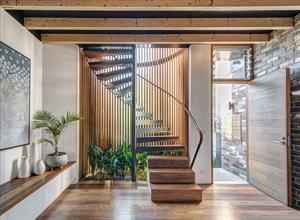 stairs below