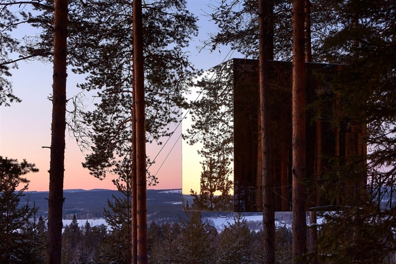 Stay at the Sustainable Treehotel in Sweden